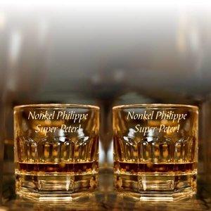 Verre à Whisky Provenza gravé