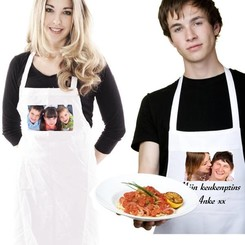 Keukenschort met foto