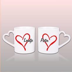 Duo Love Mokken met naam