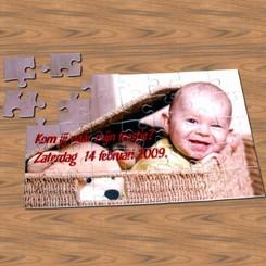 Puzzel 24 stuks met foto