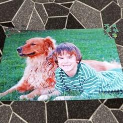 Puzzle Grand Format 96 pièces avec photo