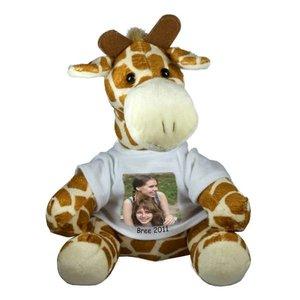 Knuffel Giraf met foto