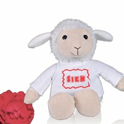 Peluche Mouton Berta avec personnalisation
