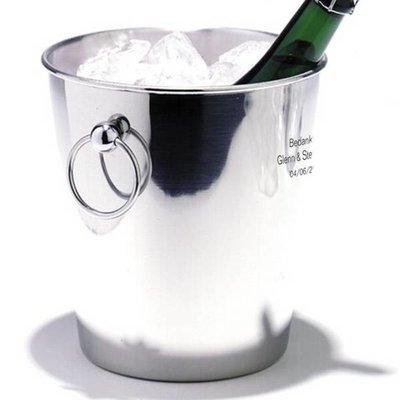 Seau à Glace / Champagne Deluxe gravé