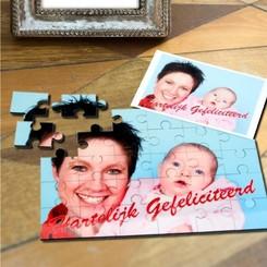 Kinderpuzzel MDF 30 stuks met foto