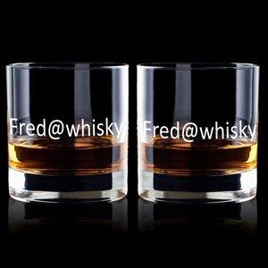 Whiskyglazen Da Vinci met personalisatie