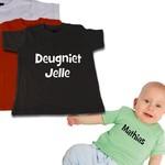 T-shirts gepersonaliseerd