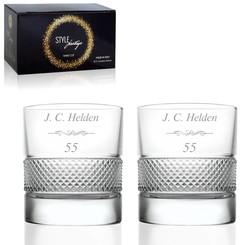Whiskyglazen Set Prestige met personalisatie