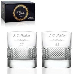 RCR Crystal Whiskyglazen Set Prestige met personalisatie