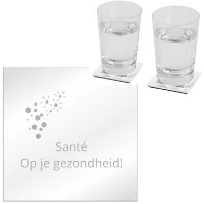 Onderzetter Set Spiegel