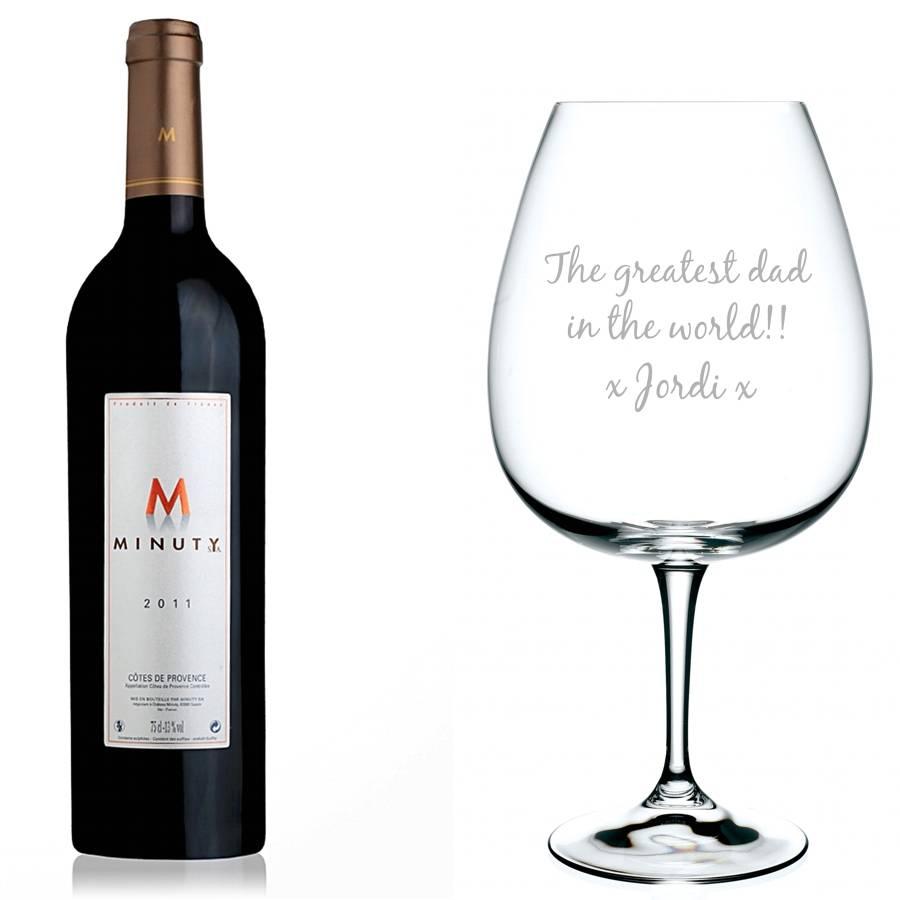 Magnum wijnglas met gravering brianto cadeaus - Ventilatie grot een vin ...