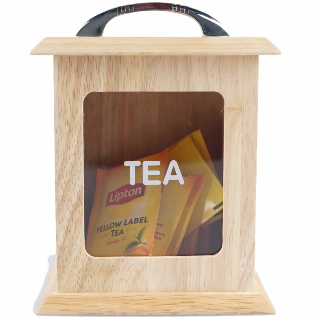 Ontwerp uw eigen gepersonaliseerd theedoosje met venster brianto cadeaus - Gepersonaliseerde keuken ...