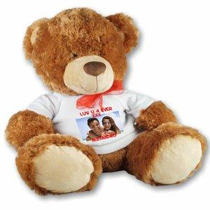 Gros ours en peluche personnalisé
