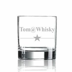 Verre à whisky avec nom
