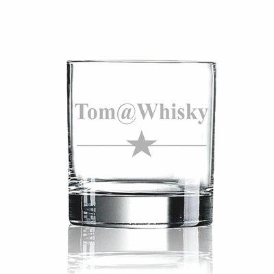 Whiskyglas met naam