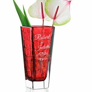 Vase Roalto avec gravure