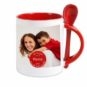 Mug avec Cuillère personnalisé