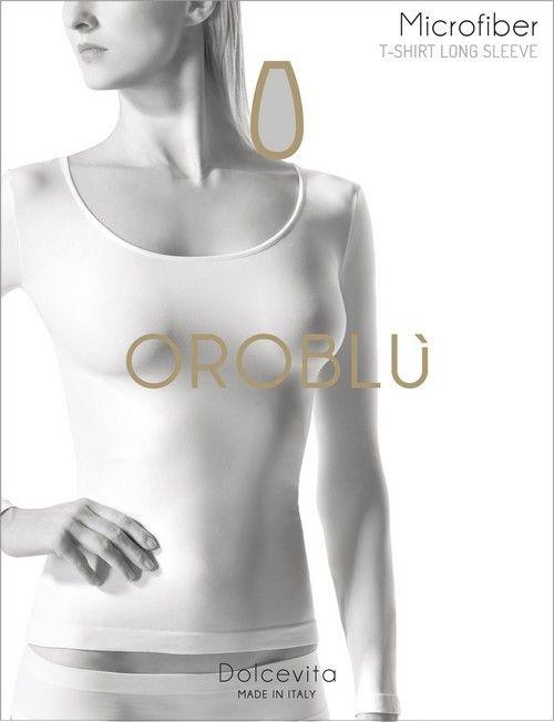 Oroblu T-Shirt Round Long Sleeve