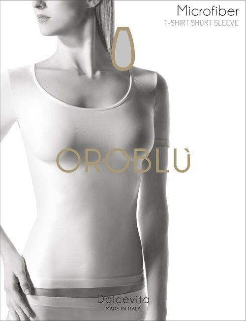 Oroblu Dolcevita T-Shirt Round Short Sleeve