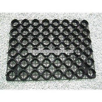 Zwarte splitplaat