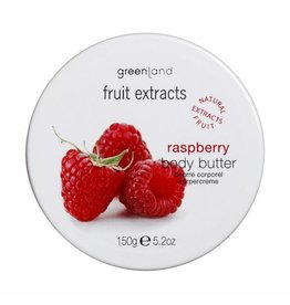 Fruit Extracts, body butter, raspberry, 150 ml