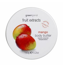 Fruit Extracts, Körperbutter, Mango, 150 ml