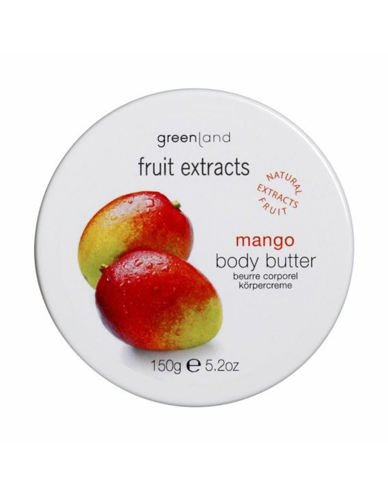Fruit Extracts, Körperbutter, Mango, 150 ml
