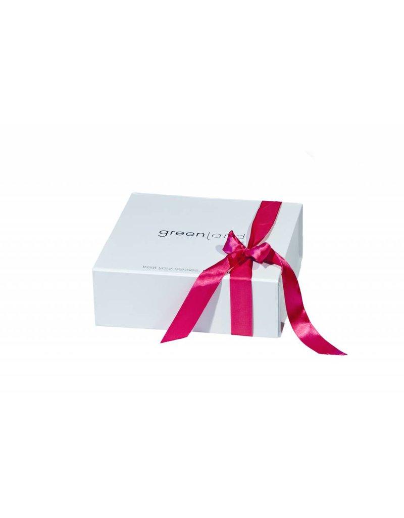 Luxuriöse Greenland Geschenkbox, weiß