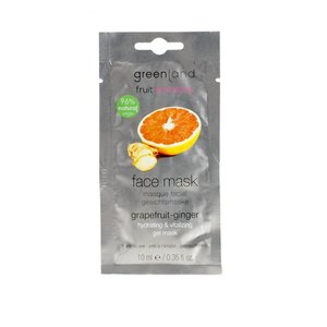 Fruit Emotions, gezichtsmasker, grapefruit-gember, 10 ml