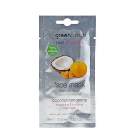 Fruit Emotions, face mask, coconut-tangerine, 10 ml