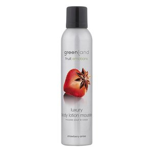Fruit Emotion, body lotion mousse, strawberry-anise, 200 ml