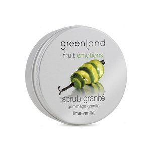 Fruit Emotions scrub granité limoen-vanille, 200 ml