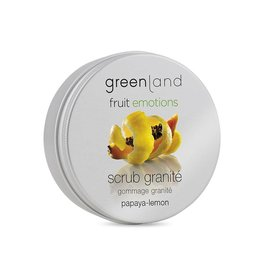 Fruit Emotions scrub granité 200 ml, papaya-lemon