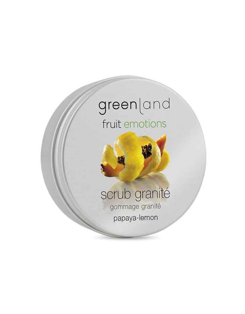 Fruit Emotions, scrub granité papaja-citroen, 200 ml