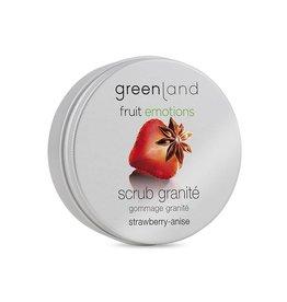 Fruit Emotions, Peeling Granité, Erdbeer-Anis, 200 ml
