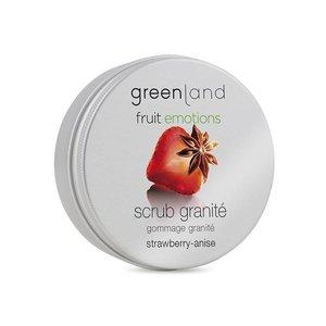 Fruit Emotions, scrub granité, strawberry-anise, 200 ml