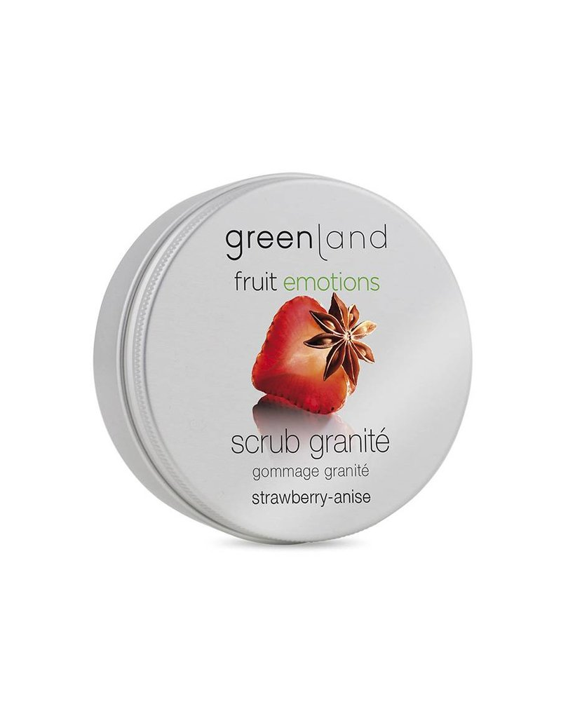 Fruit Emotions, scrub granité, strawberry-anise, 200 ml