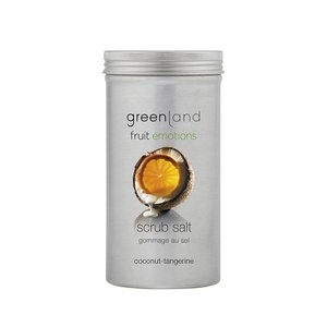 Fruit Emotions, Peelingsalz, Kokosnuss-Mandarine, 400 g