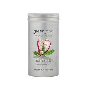 Fruit Emotions, Peelingsalz, Drachenfrucht-Weißer Tee, 400 g