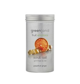 Fruit Emotions scrubzout grapefruit-gember, 400 g