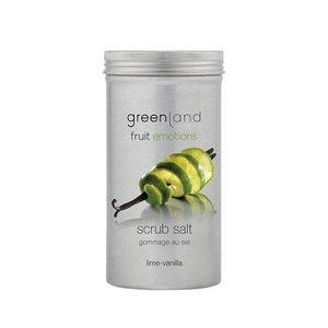 Fruit Emotions scrub salt lime-vanilla, 400 gr