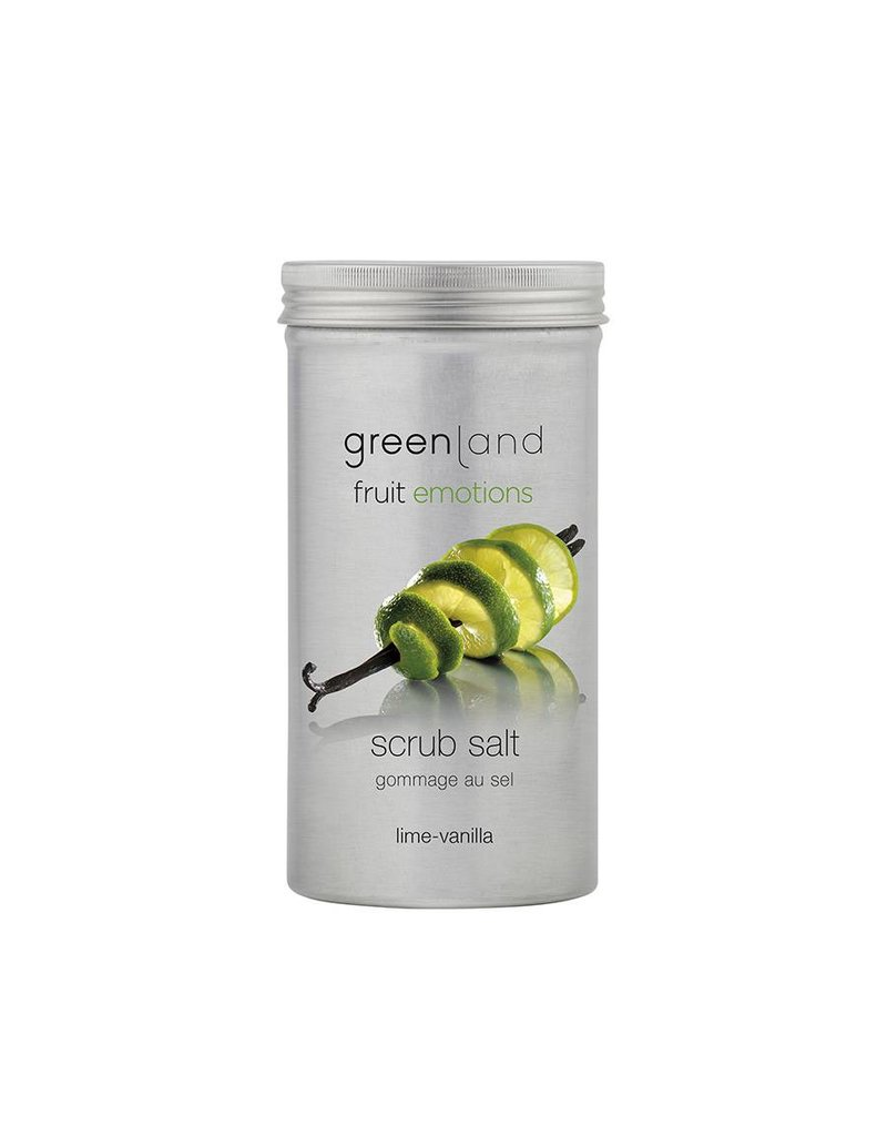 Fruit Emotions scrubzout, limoen-vanille, 400 g