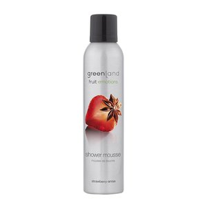 Fruit Emotions, shower mousse, strawberry-anise, 200 ml