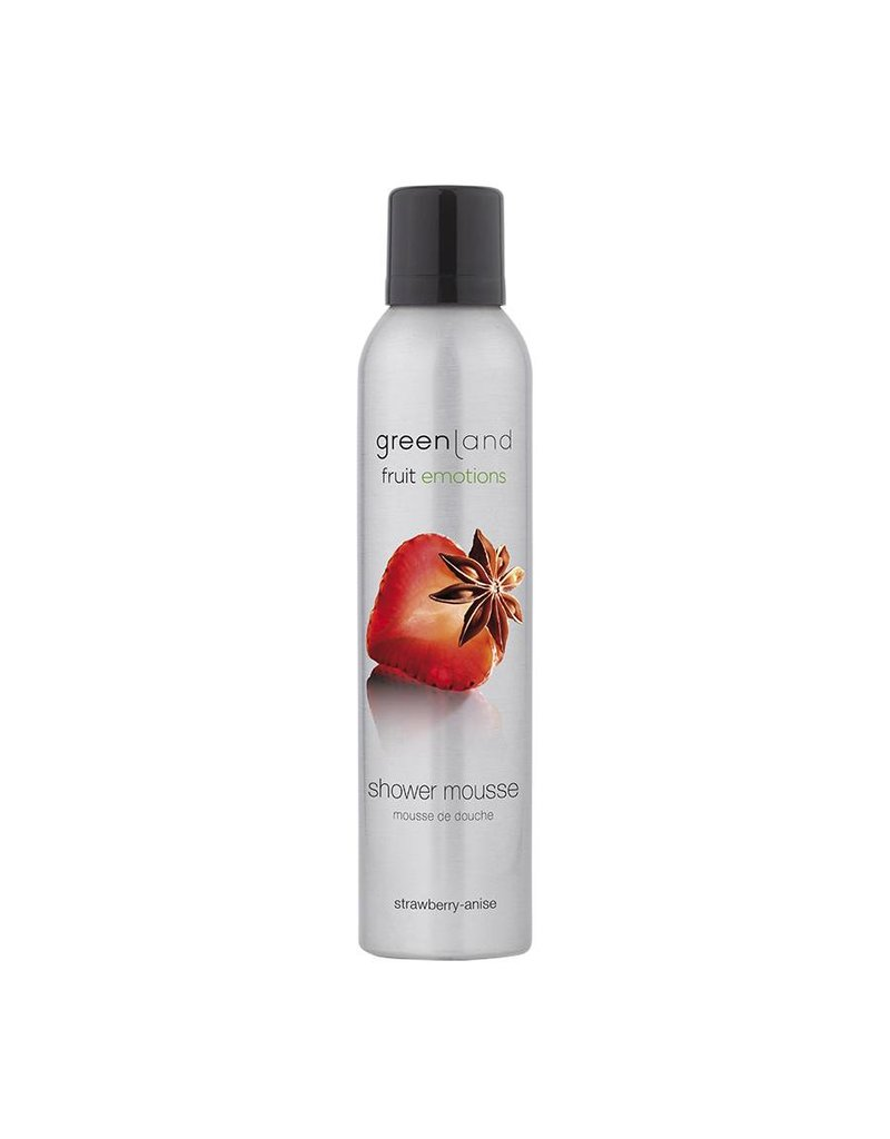 Fruit Emotions, shower mousse, aardbei-anijs, 200 ml