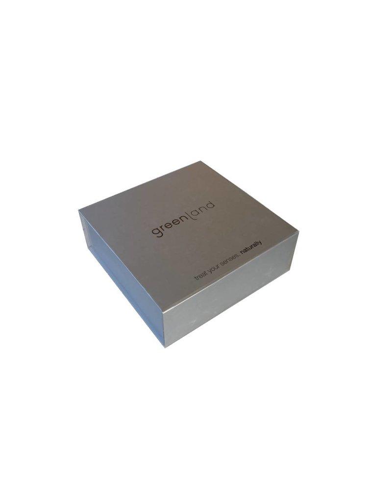 Luxurious aluminium Greenland gift box