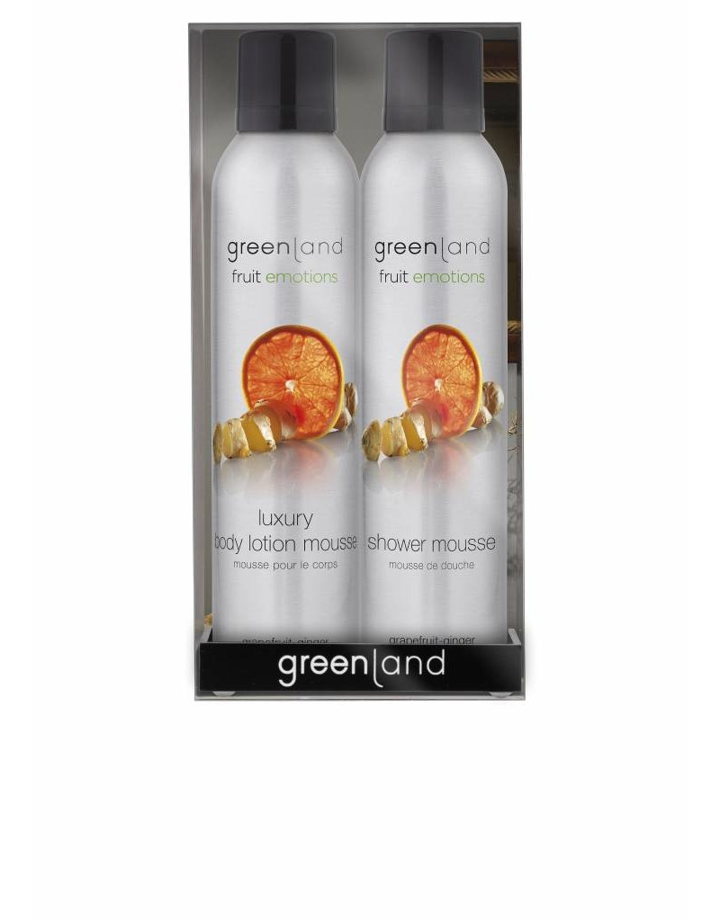 Fruit Emotions gift pack: mousse sensatie, grapefruit-gember