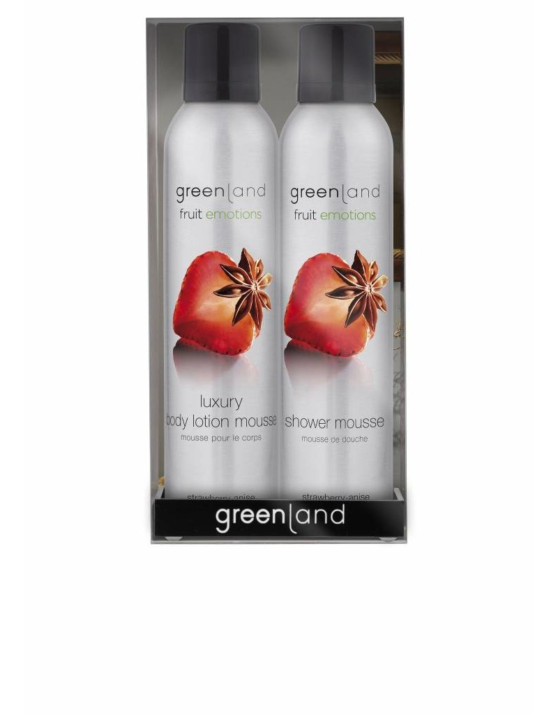 Fruit Emotions gift pack: mousse sensation, strawberry-anise