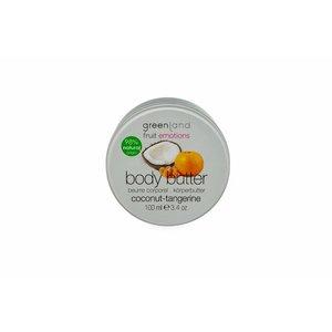Fruit Emotions, Körperbutter, Kokosnuss-Mandarine, 100 ml