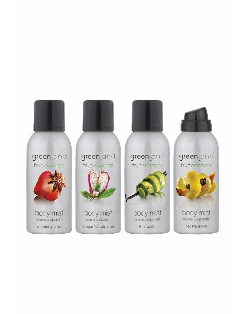Fruit Emotions, Körperspray, Papaya-Zitrone, 75 ml