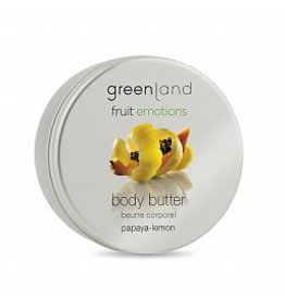 Fruit Emotions, body butter, papaja-citroen, 120 ml